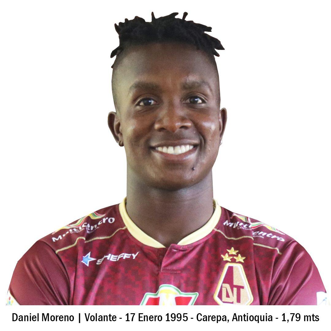 23 DANIEL MORENO