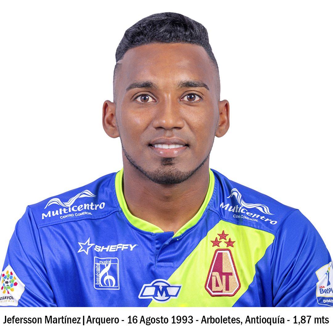 3 JEFERSSON MARTÍNEZ